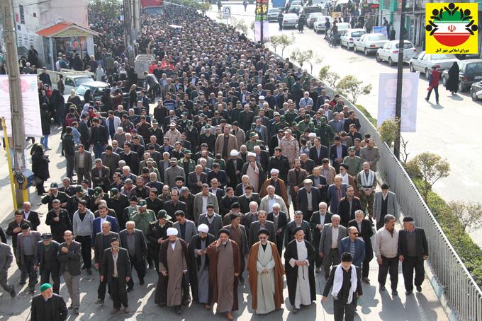 مراسم تشییع شهید گمنام در آمل – گزارش تصویری